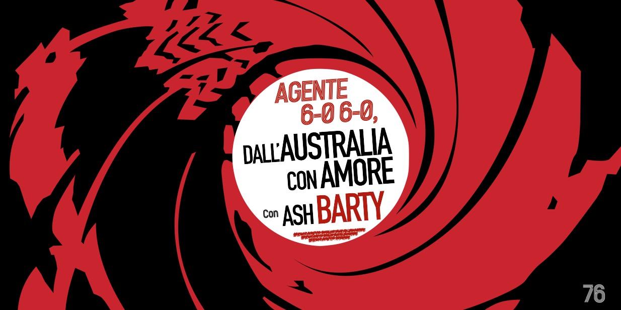 Ashleigh Barty, agente 6-0 6-0 - settesei.it